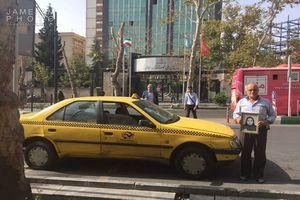 بخشنده ترین راننده تاکسی تهران +عکس