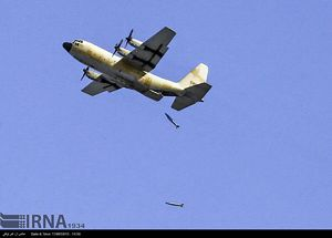 عکس/ هرکولس ارتش، بمب افکن شد