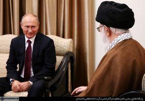 تصاویری از دیدار پوتین با رهبر انقلاب