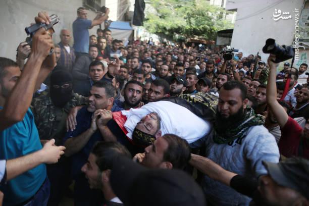 تشییع شهدای غزه