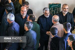 فیلم/ روایت جالب عکاس حاضر در مراسم ترحیم پدر سردار سلیمانی