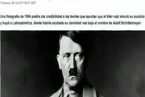 فیلم/ انتشار سند عجیب در مورد هیتلر