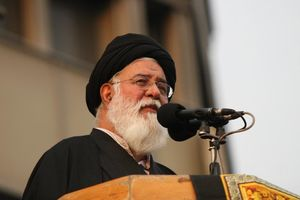 """دفتر آیتالله علمالهدی """"خبرسازی کرباسچی"""" را تکذیب کرد"""