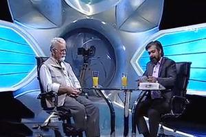 فیلم/ قهر ناگهانی هنرمند معروف در برنامه زنده
