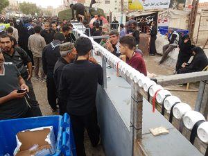 عکس/ نذر متفاوت یک موکب در نجف