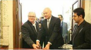توییت سفیر آلمان در تهران درباره افتتاح نمایشگاه عکسهای «برگر» در کاخ گلستان