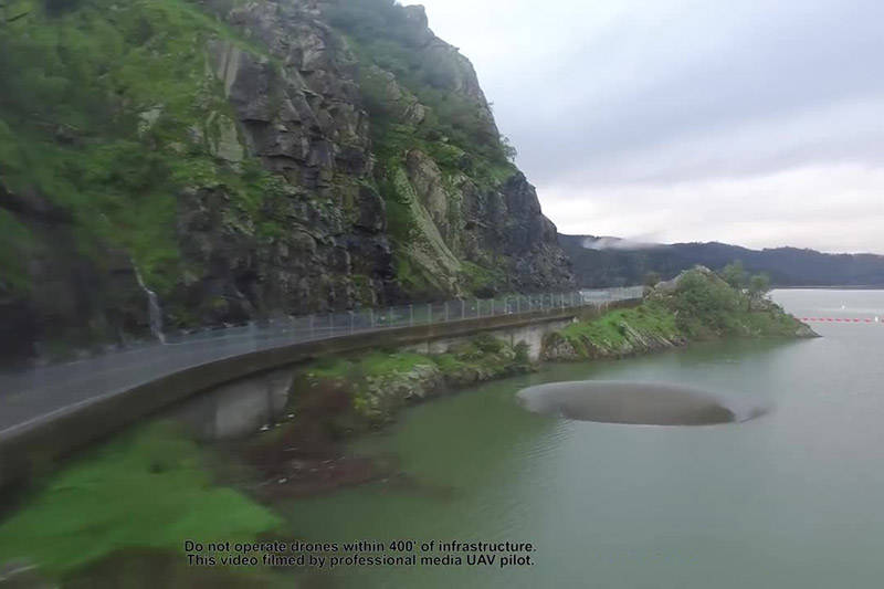 فیلم/ حفره ای که دریاچه بریسا را معروف کرد