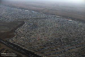 زائران نگران جای پارک خودرو نباشند