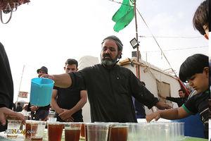 چای عراقی در موکبهای ایرانی +عکس