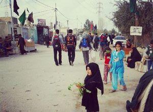 تمام دارائی دختر بچه عراقی برای زائران اربعین