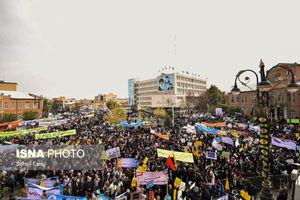 راهپیمایی یوم الله ۱۳ آبان در سراسر کشور
