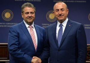 دیدار وزیر خارجه آلمان با همتای ترک خود در آنتالیا