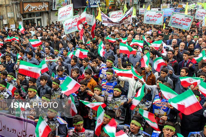 راهپیمایی ۱۳ آبان در مشهد