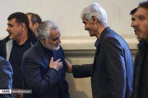 مراسم ختم پدر سرلشکر قاسم سلیمانی در تهران برگزار شد
