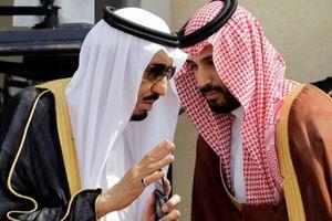 ملک سلمان و پسرش