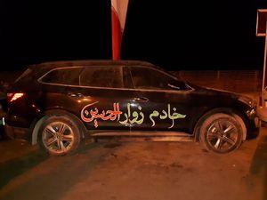 عکس/خادم باکلاس زوار الحسین