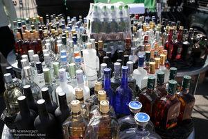 فیلم/ کشف مشروبات الکلی از سوپرمارکتها