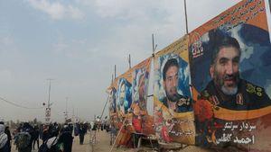 تصویرِ سرداران ایرانی در پیاده روی اربعین
