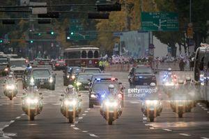 عکس/ کاروان اسکورت ترامپ در سئول