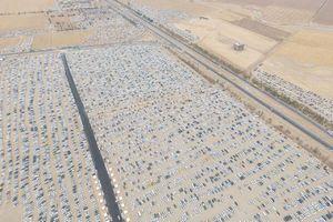 عکس/ بزرگترین پارکینگ خاورمیانه