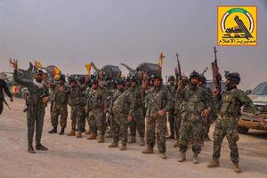 حمله به پایگاه مخفی داعش در سامرا