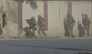 عکس/ حمله داعش به یک ایستگاه تلویزیون محلی در کابل
