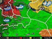 جنوب استان ادلب و مرزهای شمالی استان حماه