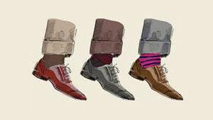 هرگز بدون جوراب کفش نپوشید