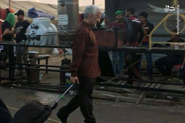 سعید جلیلی در پیاده روی اربعین