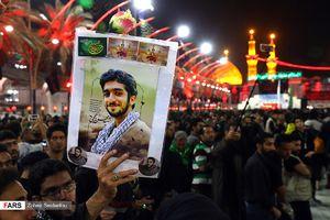 عکس/ یادکردن از شهید حججی در بینالحرمین