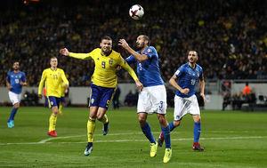 سوئد در یکقدمی روسیه/ایتالیا در آستانه نرسیدن به جام جهانی 2018 +فیلم و عکس