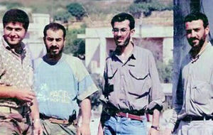 عکس/ چهار ژنرالِ شهید «حزب الله» در یک قاب