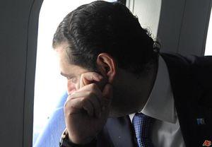 الجزیره: هواپیمای «حریری»  وارد پاریس شد