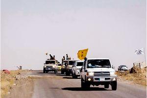 فیلم/آغاز عملیات مشترک نیروهای مقاومت عراق و ارتش سوریه
