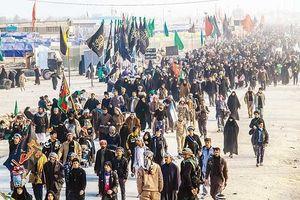 فیلم/ بازگشت زائران اربعین از مرز مهران