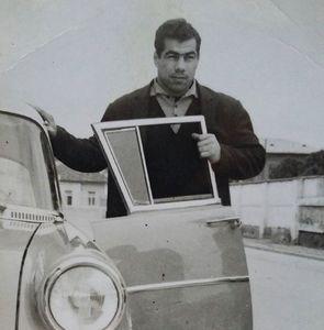 عکس/ جهان پهلوان تختی و ماشینش