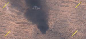 تصاویر ماهوارهای از میدان نفتی رگسفید