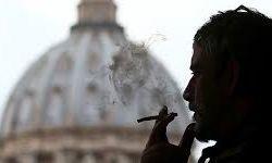 ممنوعیت فروش سیگار در واتیکان