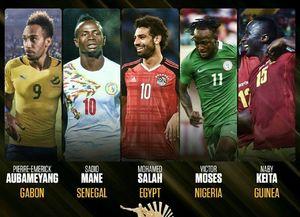 عکس/ نامزدهای کسب عنوان بهترین بازیکن سال 2017 آفریقا