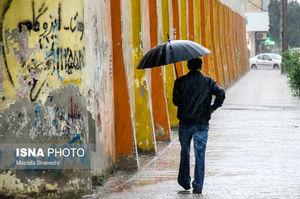 بارش شدید باران در ساری