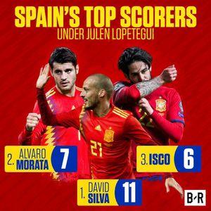 عکس/ برترین گلزنان تیم ملی اسپانیا زیر نظر لوپتگی