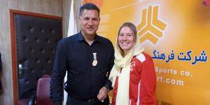 خاطرات بازیکن راگبی زنان آلمان از ملاقات با علی دایی