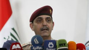 سرلشگر یحیی رسول سخنگوی ارتش عراق