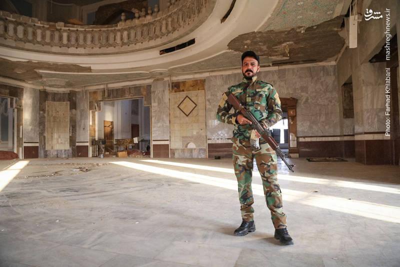 هم اکنون نیروهای نظامی و امنیتی عراق در این کاخ ها مستقر هستند
