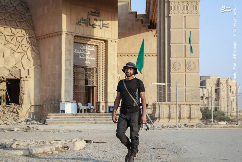 هم اکنون نیروهای نظامی و امنیتی عراق در این منطقه مستقر هستند