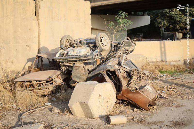 بخشی از اموال و آثار به جای مانده پس از خروج داعش از این کاخها