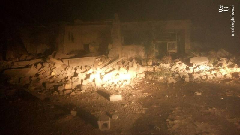 فیلم اخرین تصاویر زلزله