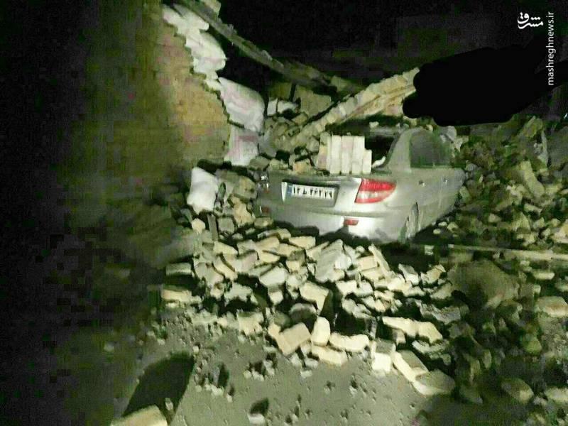 خسارات وارده در شهرستان قصرشیرین