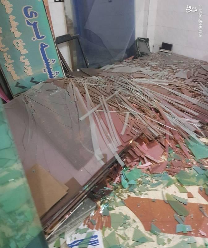 خسارت زمین لرزه در استان لرستان