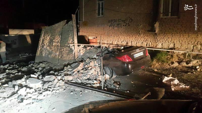 زلزله ۷ ریشتری از بغداد تا تهران را لرزاند